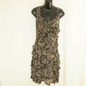 Lynn Ritchie Silver Animal Print Dress Sma…